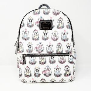DISNEY LOUNGEFLY princess frame mini backpack